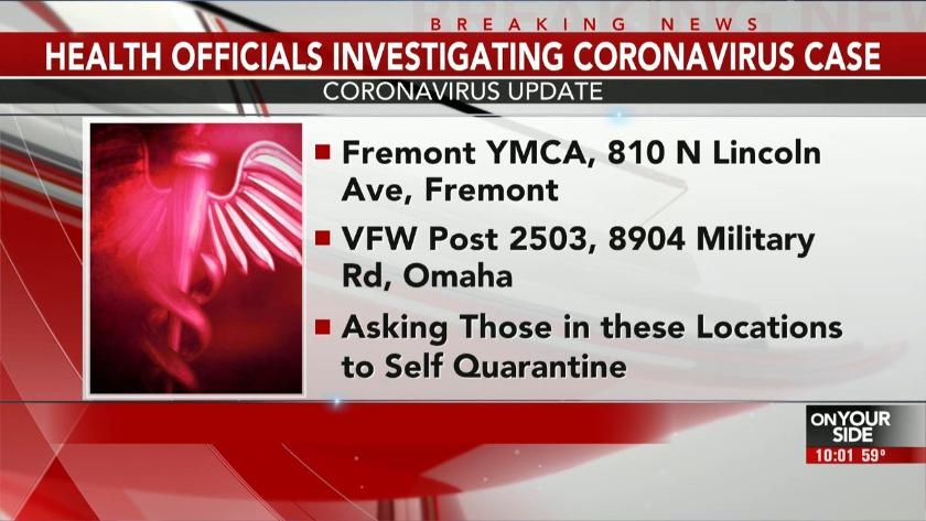 UPDATE: Neb. health officials update on first coronavirus case ...