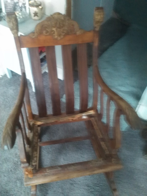 antique rocking chairs value electric chair repair 37333f3caf92