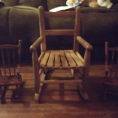 Antique Rocking Chairs Value Chair Types Living Room For A Child And Miniature