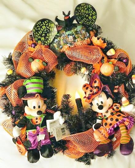 Win A Disney Themed Halloween Wreath