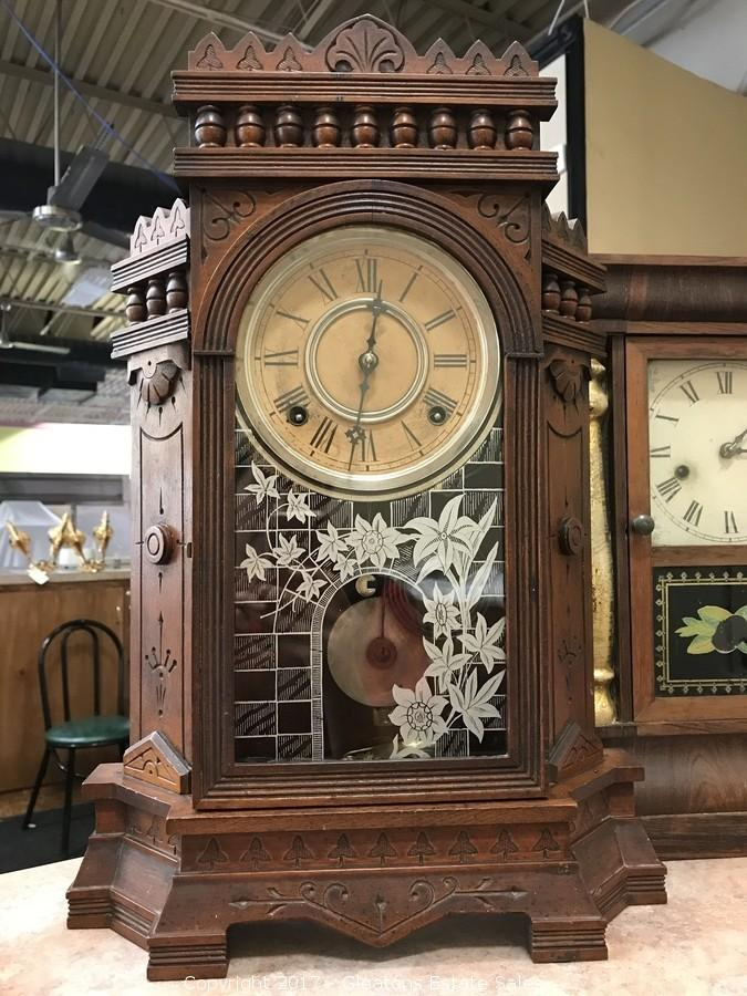 gilbert kitchen clock fun gadgets gleaton s the marketplace auction fine jewelry and more beautiful rare wm l dated 1883