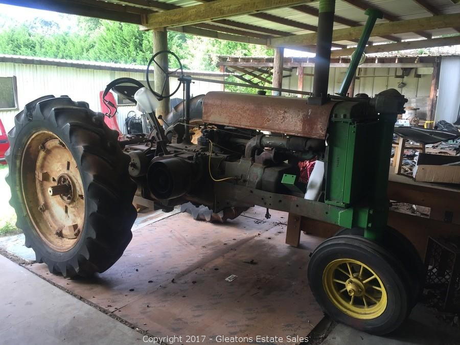 john deere g tractor for sale 1988 jeep wrangler wiring diagram gleaton s the marketplace auction 270 rising star road estate 1938