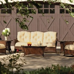 Vinyl Wicker Chairs Aeron Chair Height Adjustment Not Working Collection Lloyd Flanders Premium Outdoor Furniture In All Grand Traverse