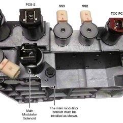 Electronic Number Lock Circuit Diagram 1994 Harley Davidson Fatboy Wiring Sonnax Remanufactured Valve Body - Al1002