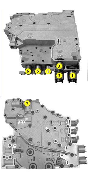 Sonnax 100020002400 Solenoid Identification & Connector