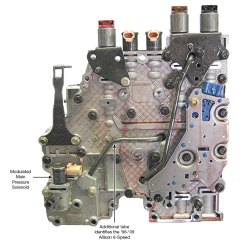 Freightliner Wiring Diagram Domestic Uk Sonnax Allison® 1000/2000/2400 Valve Body Identification & Casting/plate Numbers
