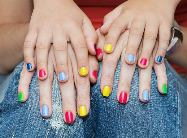 Image result for mommy and daughter manicure free image