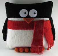 Penguin Pillow - Knitting Patterns and Crochet Patterns ...