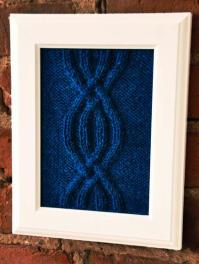Cable Panels Knitted Wall Art - Knitting Patterns and ...