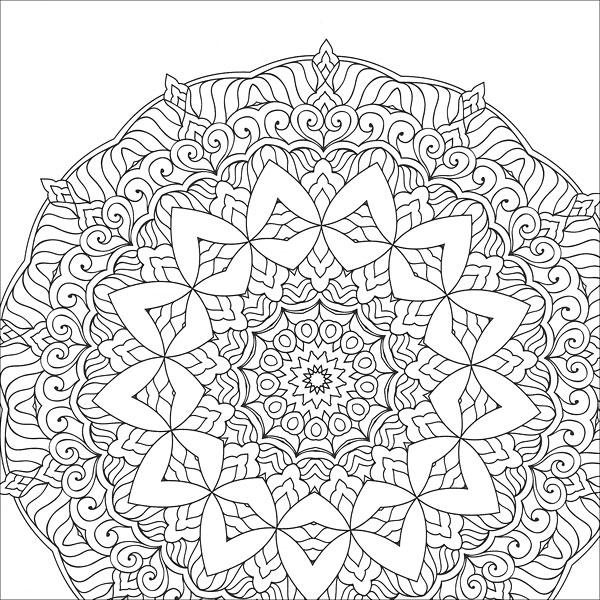 Zen Coloring: Mandalas from KnitPicks.com Knitting by