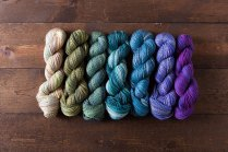Sampler packs of yarn make beautiful gifts for knitters