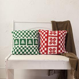 Holiday #knit Pillow pattern on Knit Picks