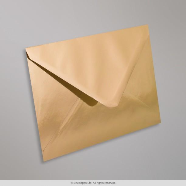 114x162 mm C6 Gold Mirror Finish Envelope  GEC6