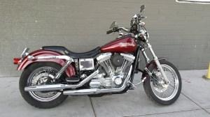 2001 HarleyDavidson® FXD Dyna Super Glide® (Maroon), LAS