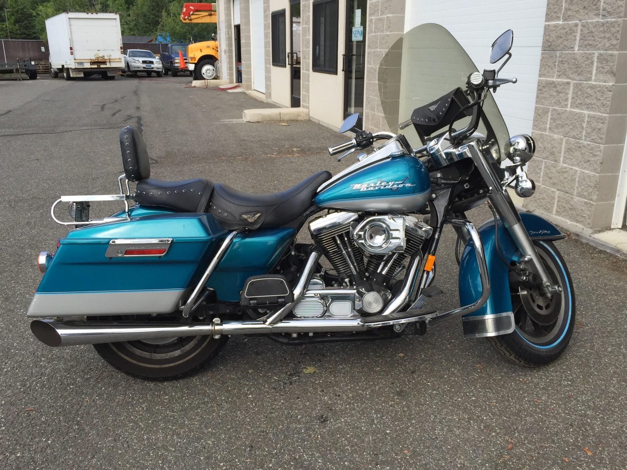hight resolution of 1994 harley davidson flhr road king blue middletown connecticut 645950 chopperexchange