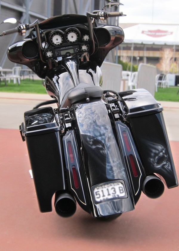 2009 Harley-davidson Flhx Street Glide Black
