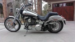 2003 HarleyDavidson® FXSTDI Softail® Deuce™ (Silver