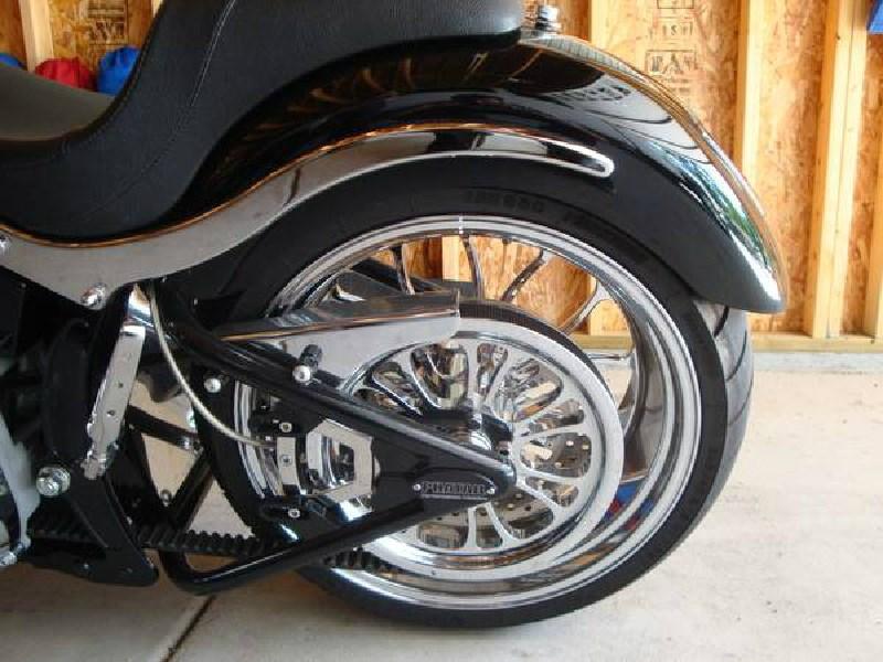 Harley Davidson Fatboy Chrome Wheels