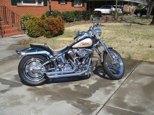 1993 HarleyDavidson FXSTS Springer Softail two tone lumberton North Carolina 150304