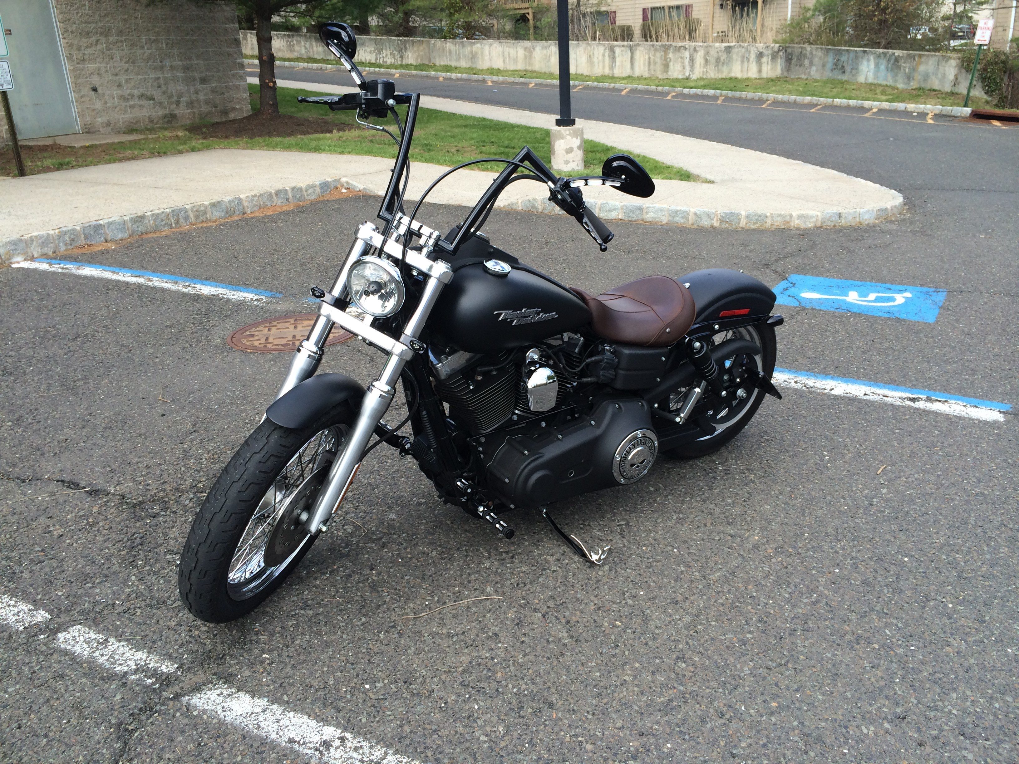 harley turns petrol into noise class diagram for hospital management system 2006 davidson fxdb i dyna street bob black