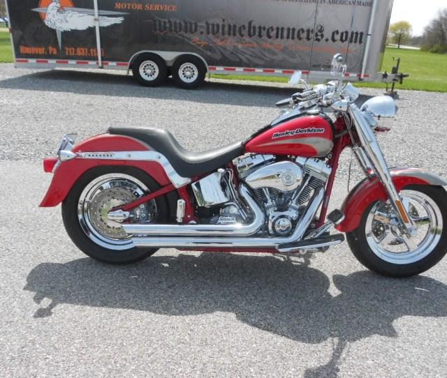2005 Harley Davidson Flstfse Screamin Eagle Fat Boy 13900