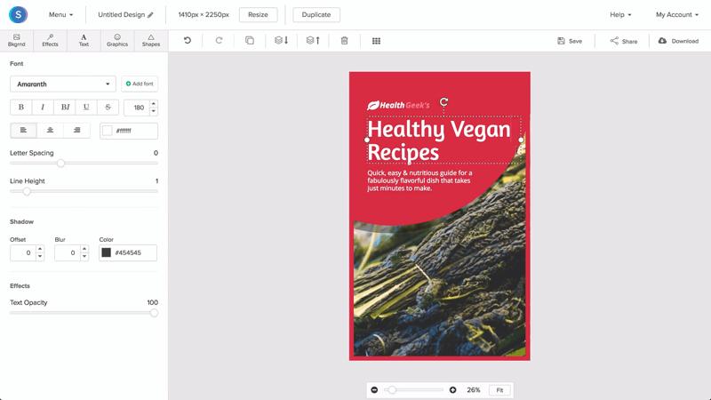 online ebook cover creator