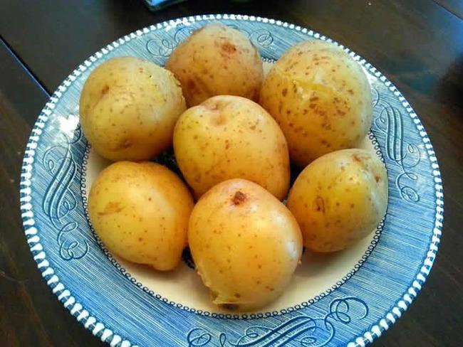 pommes de terre vapeur au cookeo
