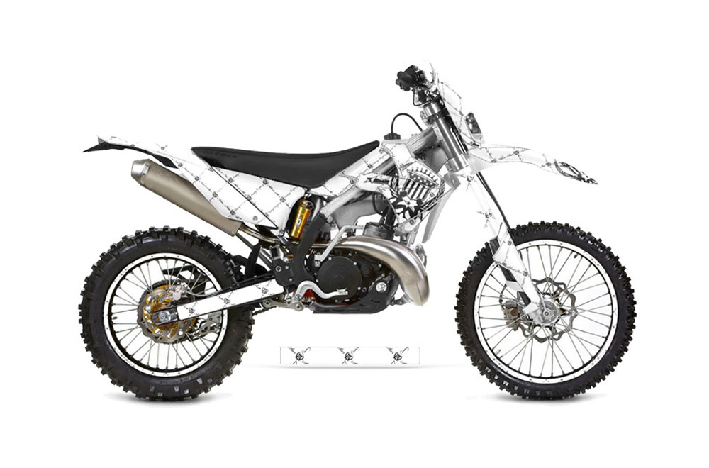 Gas Gas EC 250 Dirt Bike Graphics: Silver Star Reloaded