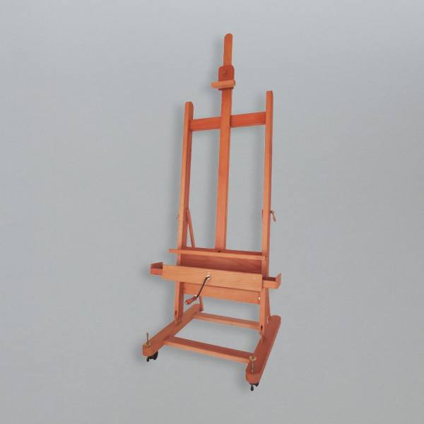 Artist Painting Easel