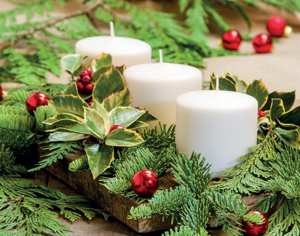 Continua la ricerca nella raccolta di istock di immagini stock. Corso Natale Fai Da Te Il Centrotavola Natalizio Bardin Garden Store