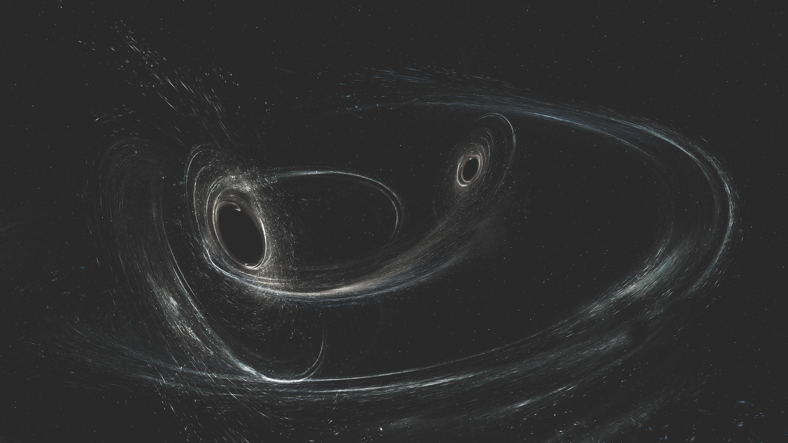 latest black hole collision