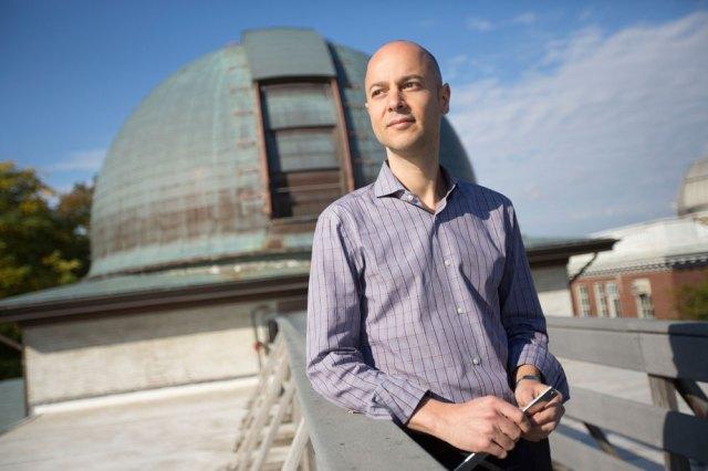 Edo Berger, an astronomer at Harvard University and principal investigator of a team that uses the Dark Energy Camera to follow up on LIGO detections.