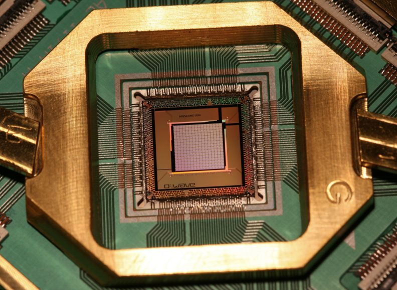 Processors made by D-Wave Systems are being used for machine learning applications.