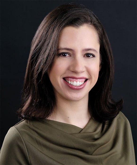 Portret van Netta Engelhardt.