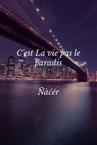 C'est La Vie Pas Le Paradis : c'est, paradis, Steller:, Create, Beautiful, Social, Media, Stories