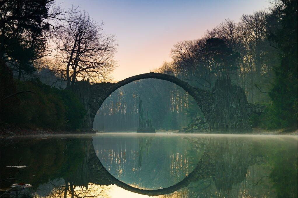 Rakotzbrücke Devil's Bridge Germany