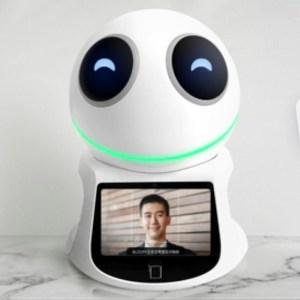 AI receptionist robot