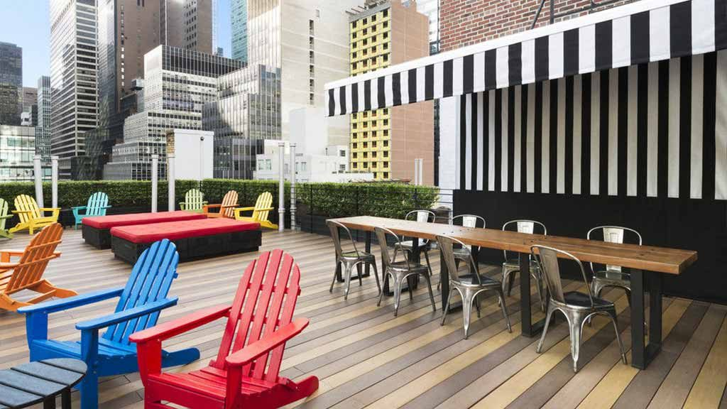 new river adirondack chairs rustic ladder back chair best rooftop bars in york city to drink