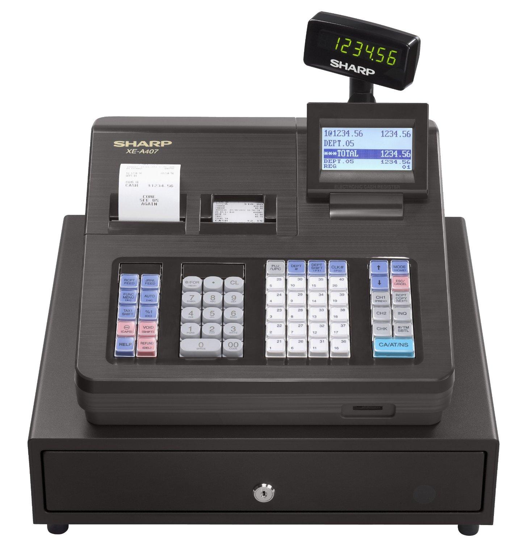 Sharp Xe A407 Cash Register