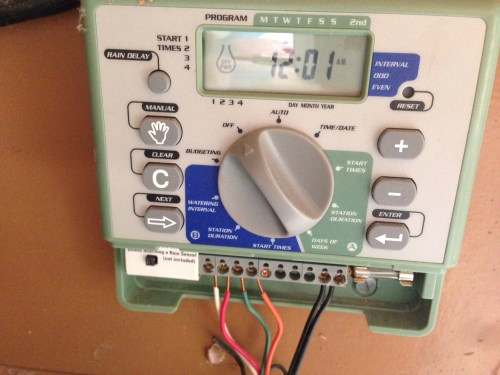 small resolution of tested opensprinkler 2 0 arduino based irrigation controller tested electronic controller wired to sprinkler system