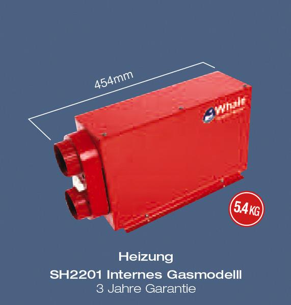 webasto installation chauffage gaz 2kw