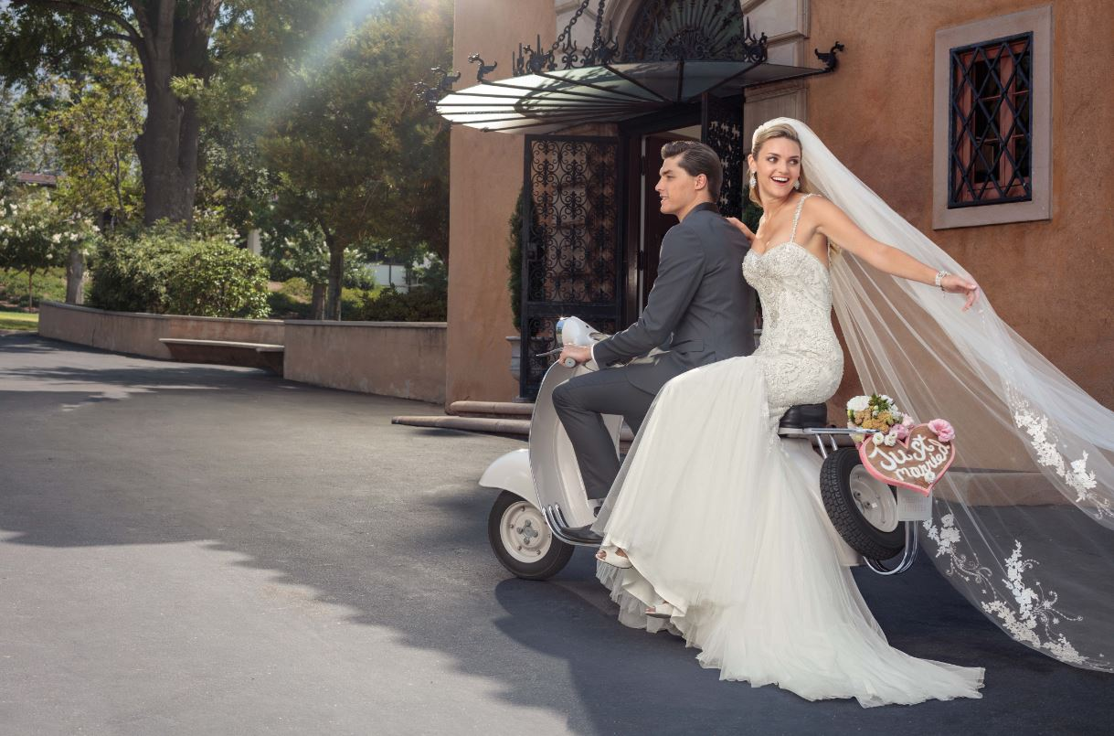 For The Modern Mermaid: Casablanca Bridal Gown #2320 Paige