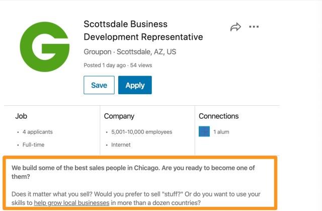 How to Write LinkedIn Job Descriptions  Ongig Blog