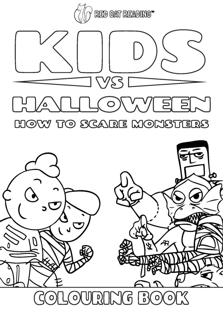 Happy Halloween! Trick-or-Treat tips by Red Cat Reading
