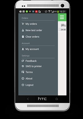 HTC screen
