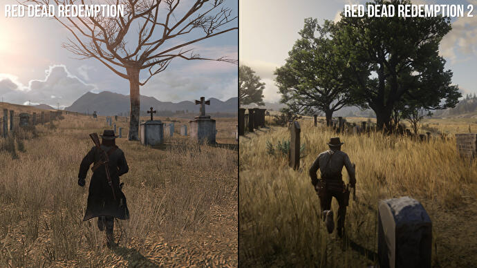 Blackwater And Beyond Red Dead Redemption 12 Directly Compared