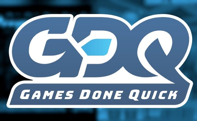 Charity Speed Running Event Summer Games Done Quick