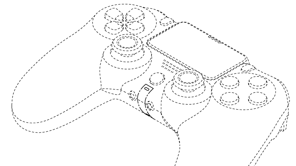 This DualShock 5 patent hints at larger triggers and no