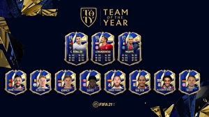 FIFA 21 Team Of The Year onthuld