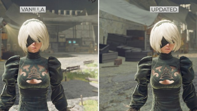 Modder's Nier: Automata HD texture pack finally complete after four years of development 2